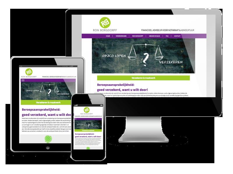 Jenx Borgdorff nieuwe website
