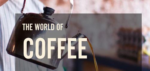 Koffie- en theeboek design