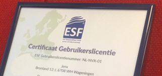 Certificaat voor viswinkels