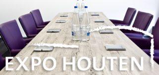 Online zalen boeken bij Expo Houten